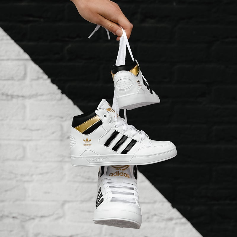 adidas Hardcourt - Grade School Shoes