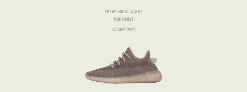 "Coming Soon Yeezy 350 V2 ""Mono Mist"""