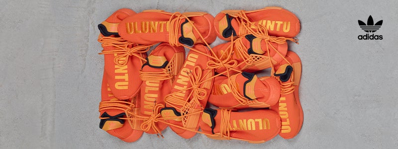 Adidas pharrell williams orange
