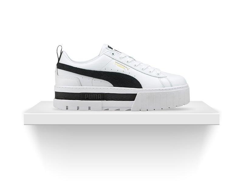 Shop Puma Mayze Leather