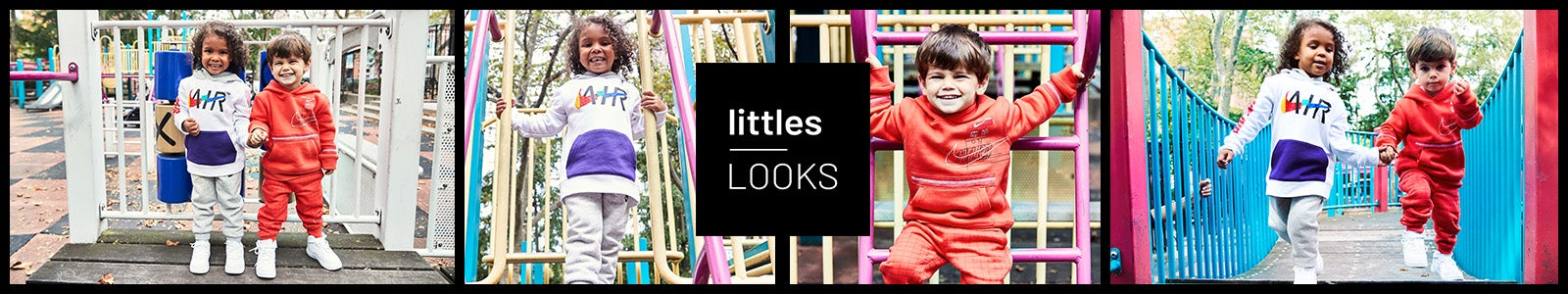 Littles by Kids Footlocker. Your go-to source for durable and cute pieces from brands you know and love, for their first car ride home to their first day of preschool.