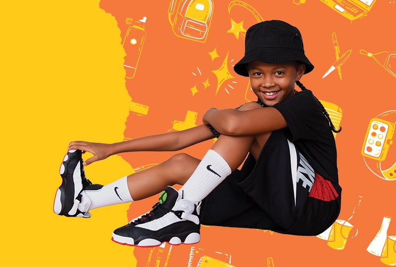 Shop apparel from the back to school collection.