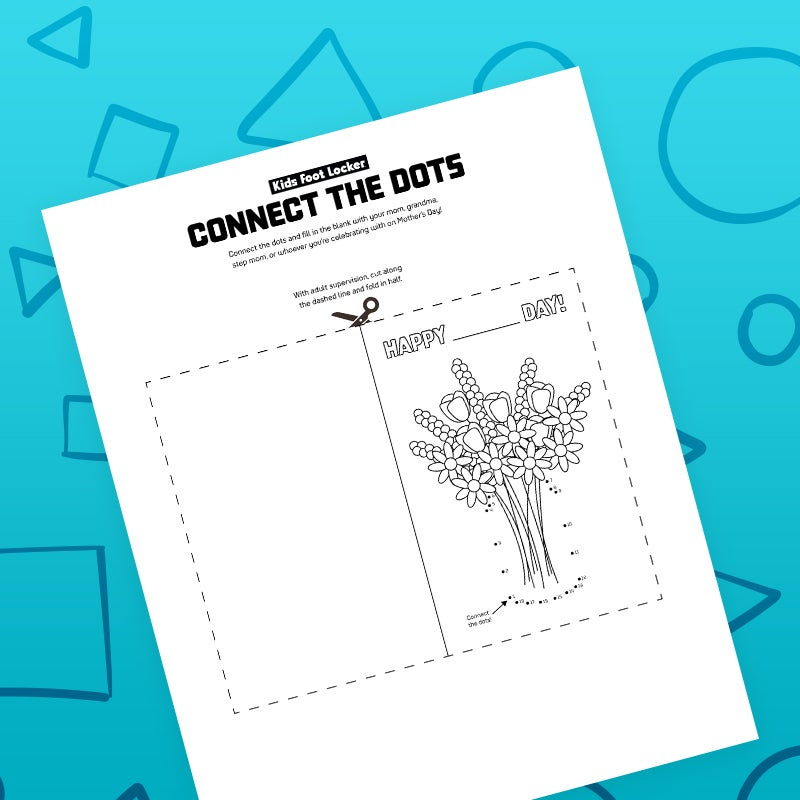 download connect the dots activity page