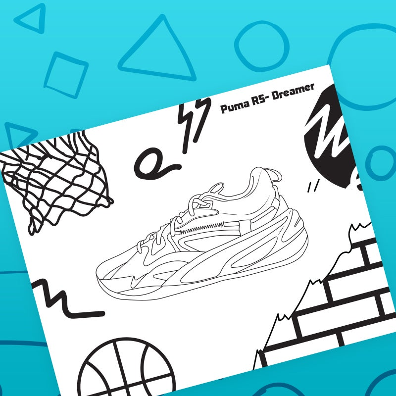 download puma coloring page