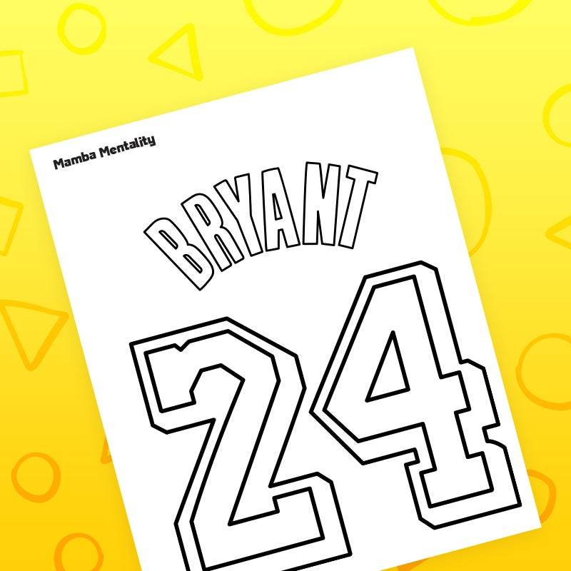 download Mamba coloring page