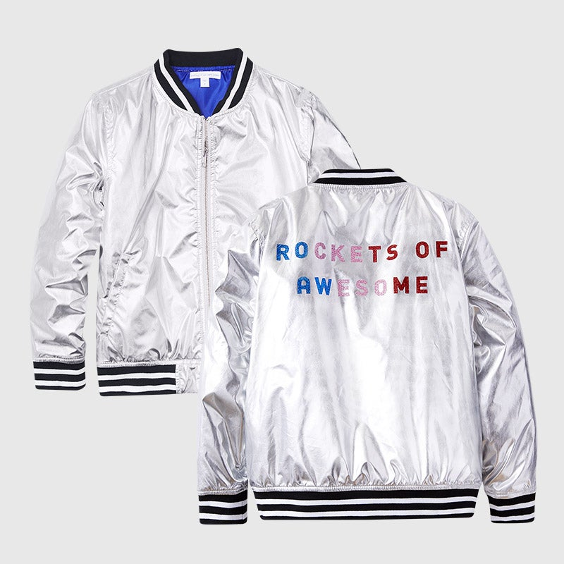 shop rainbow bomber jacket