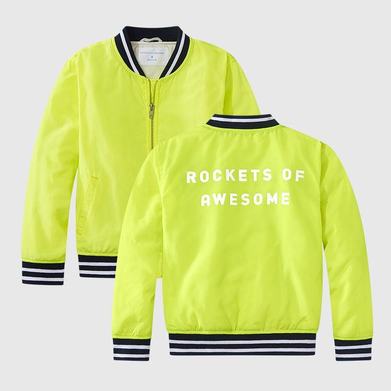 shop highlighter bomber jacket