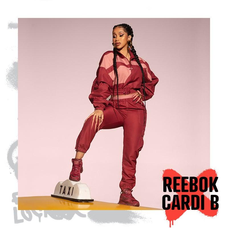 Make traffic stop for you in Cardi B & Reebok's latest kicks.