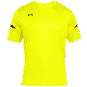 De otra manera Cartero Sacrificio  Under Armour Team Golazo 2.0 Jersey - Men's - Soccer - Clothing - Hi-Vis  Yellow/Black