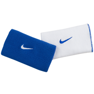 Nike Dri-FIT Home & Away Doublewide Wristbands - Men's - Baseball -  Accessories - Varsity Royal/White