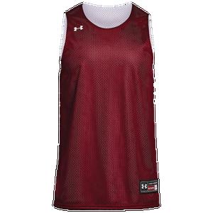 Islas del pacifico Dime Banquete  Under Armour Team Triple Reversible Double Jersey - Boys' Grade School -  Basketball - Clothing - Cardinal/White