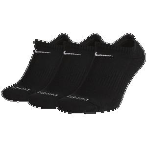 Nike 3 Pack Dri-FIT Plus No Show Socks - Men's