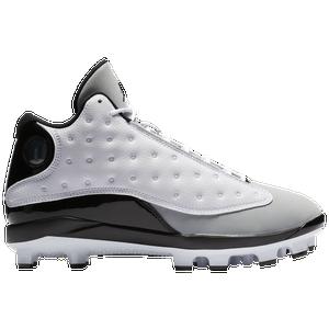 new product a13c9 ac7dc Jordan Retro 13 MCS - Men's - Baseball - Shoes - White/Black ...