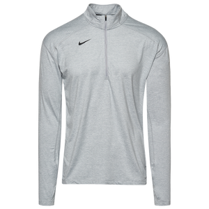 Subrayar castillo astronomía  Nike Team Dry Element 1/2 Zip Top - Men's - For All Sports - Clothing -  Wolf Grey Heather/Black