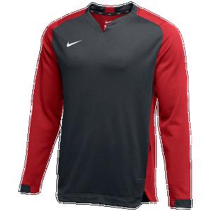 Subdividir trabajador guión  Nike Team BP Crew - Men's - Baseball - Clothing - Anthracite/Scarlet/White