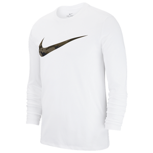 save up to 80% huge discount new collection Nike Dri-FIT Cotton L/S Swoosh Camo T-Shirt - Men's