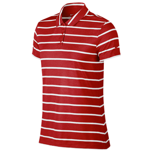 Nike Dri Fit Dry Stripe Golf Polo Women S Golf Clothing University Red White And with so many colors to choose from, you're sure to brighten up your. nike dri fit dry stripe golf polo