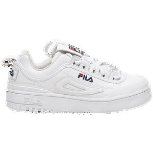 FILA Womens Ray White is available at Foot Locker