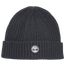 Timberland Rubber Logo Ribbed Beanie - Men's