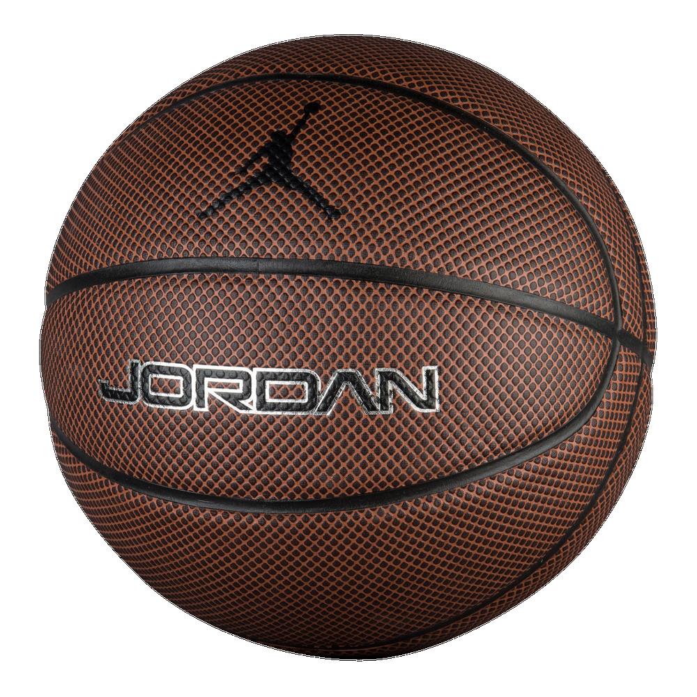 Jordan Legacy Basketball / Amber/Dark Brown   29.5