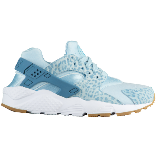 New Girls Nike Huarache Run - Grade School - Ocean Bliss/Noise Aqua/Gum Light Brown