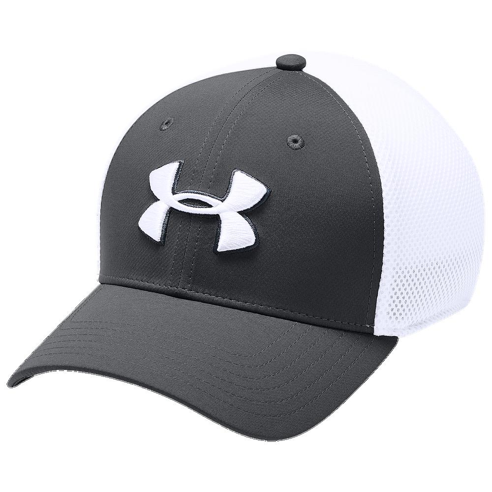 Under Armour TB Classic Mesh Golf Cap - Mens / Graphite/White