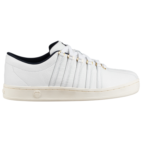 A modern update of the original K-Swiss Classic, the 88 has a slightly fuller silhouette than the original 1988 version. It\\\'s made with premium leather for people seeking a timeless, classic look. Premium leather upper in a classic silhouette. Rubber outsole for durability and traction.