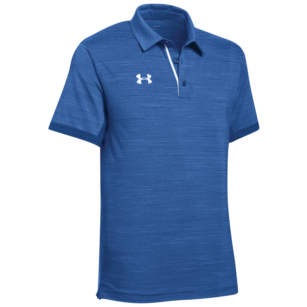 Under Armour Team Elevated Polo - Mens / Royal/White