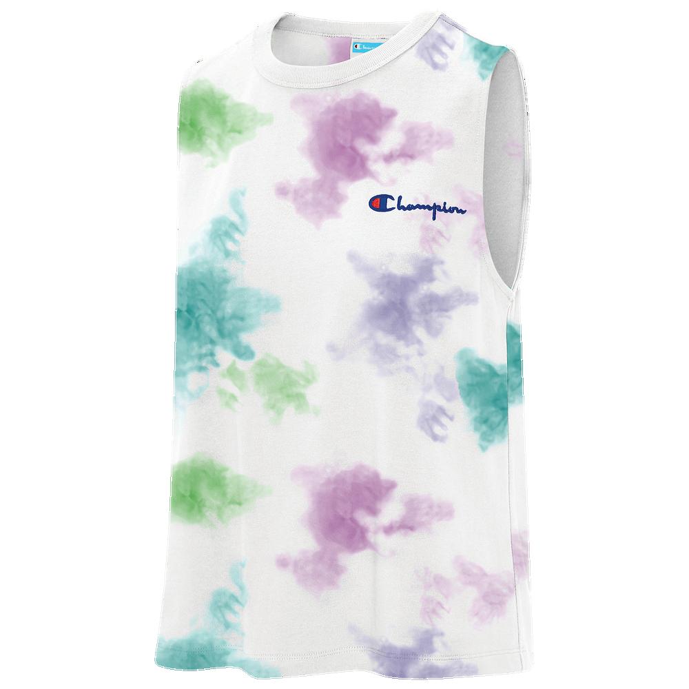Champion The Boyfriend Muscle Tank - Womens / Cloud Dye White