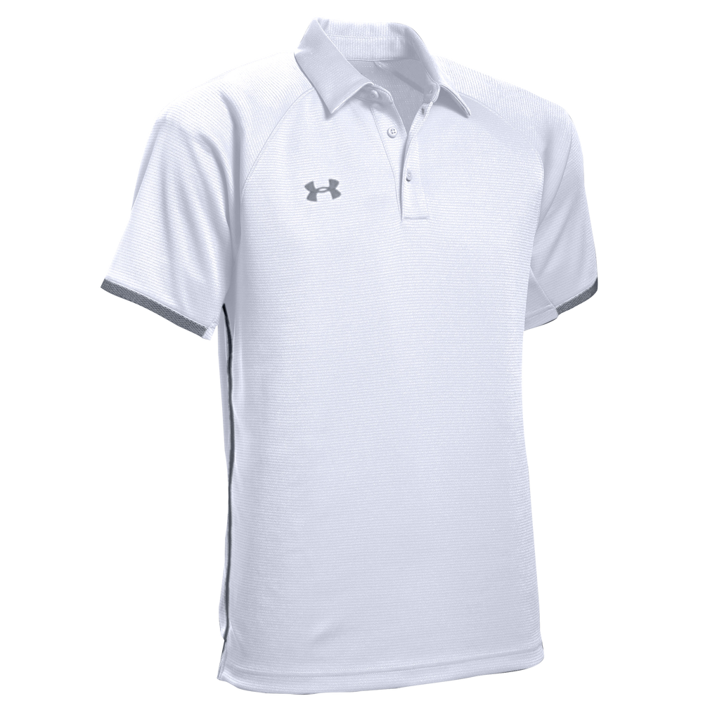 Under Armour Team Rival Polo - Mens / White/Graphite