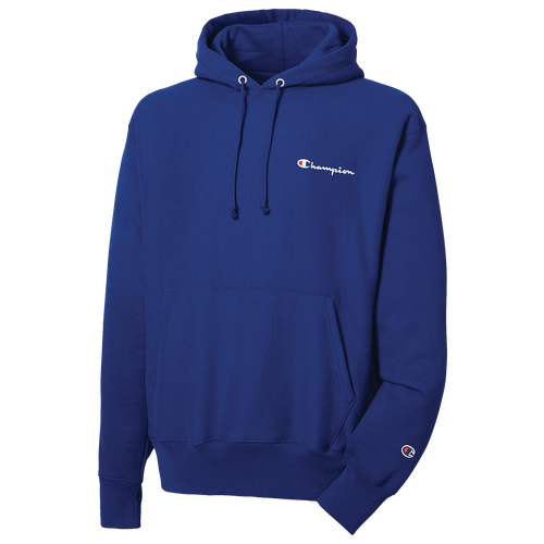 Classic Champion style is easy with the comfortable Chest Script Pullover Hoodie. Feature embroidered vintage script graphics. Fabric is cut against the grain to limit vertical shrinkage. Ribbed side panels give you more room to move. Front kangaroo pocket gives you convenient storage. Solid Body: 82% cotton/18% polyester; Oxford Grey Body: 77% cotton/23% polyester; Silver Grey Body: 80% cotton/20% polyester; Granite Body: 66% cotton/34% polyester; Solid Ribbing: 100% cotton; Oxford Grey Ribbing: 90% cotton/10% polyester; Silver Grey Ribbing: 99% cotton/1% polyester; Granite Heather Ribbing: 60% cotton/40% polyester. Imported.