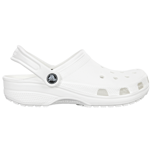 Keep it simple yet stylish with the Crocs Classic Slides. These water-friendly slides come with ventilation ports to keep your foot dry and pivoting heel straps for a perfect fit. Slip into Crocs Classic Slides and let your smart fashion choice do the talking for you! The water-friendly and buoyant material offers quick drying.