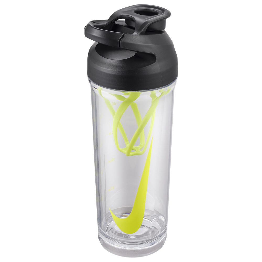 Nike TR Hypercharge Straw Bottle 24 OZ / Clear/Volt