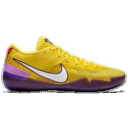 check out fce8c 4aa90 Kobe Bryant Nike Kobe AD NXT - Mens - University GoldCourt Purple