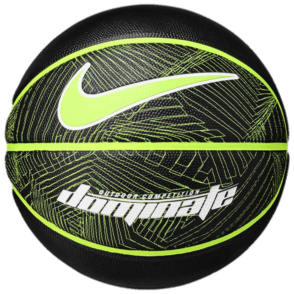Nike Dominate Basketball - Mens / Black/Volt/White | 29.5
