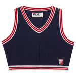 Fila Nina V-Neck Crop Top - Women's