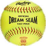 Rawlings Dream Seam ASA/NFHS Fastpitch Softballs - Women's