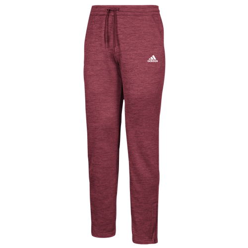 adidas Team Issue Fleece Pants - Womens - Collegiate Burgundy/White