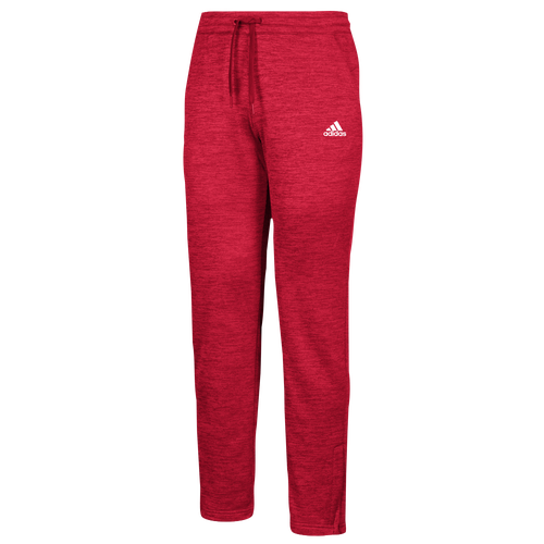 adidas Team Issue Fleece Pants - Womens - Power Red/White