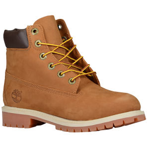 Boys Timberland 8 Premium Waterproof Boots Grade School Black