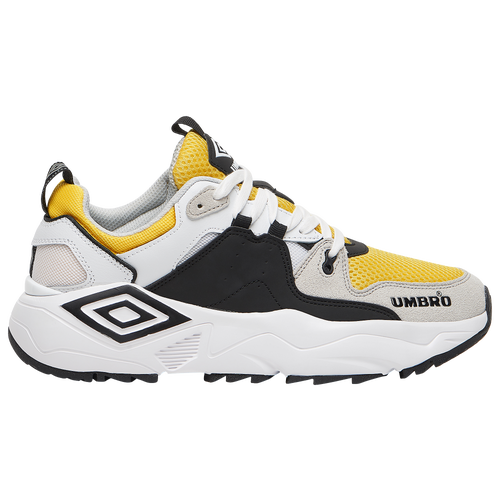 Umbro Mens  Runner M In White/yellow/black