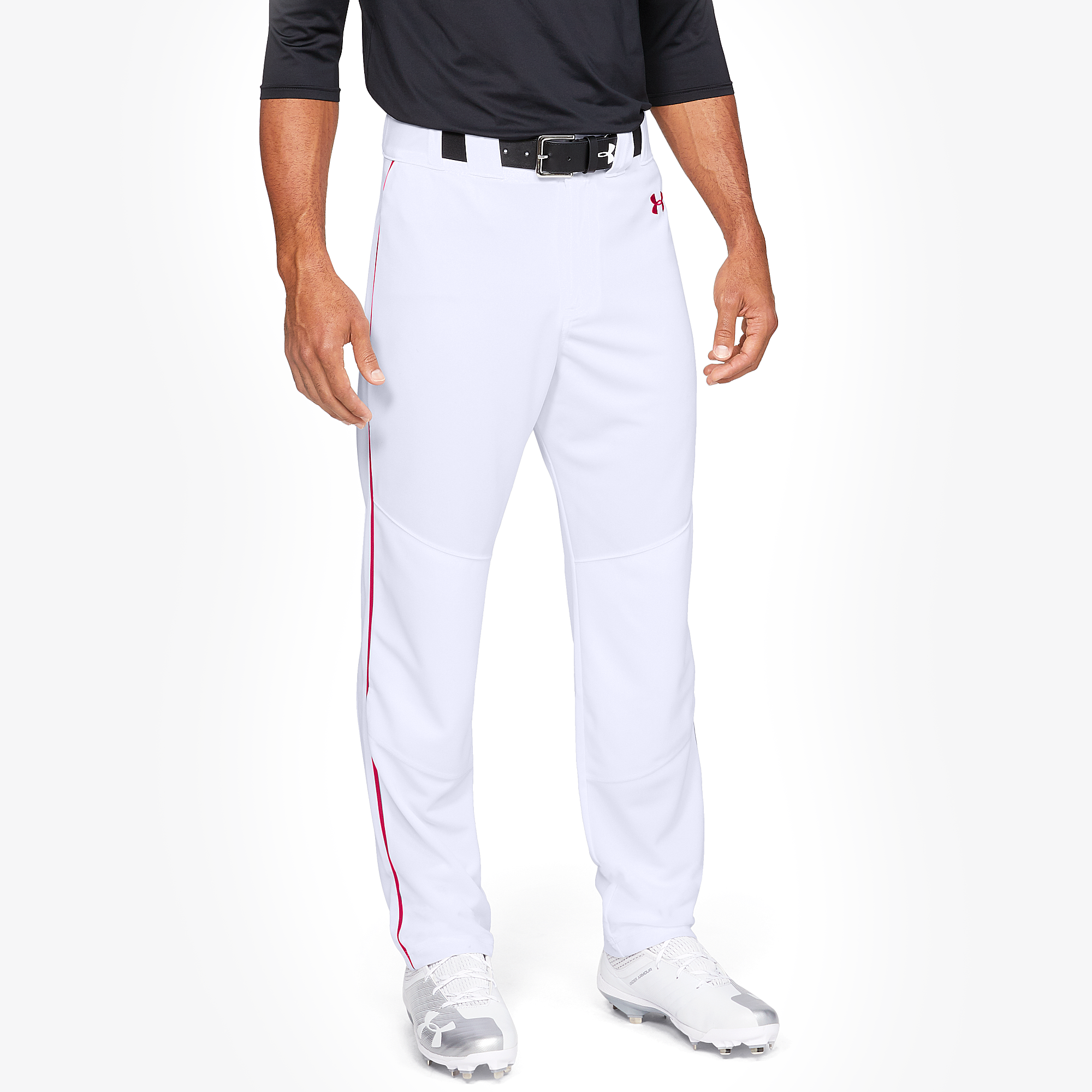 Under Armour Garçons GRAY UA utilitaire fond ouvert Décontracté Baseball Pantalon
