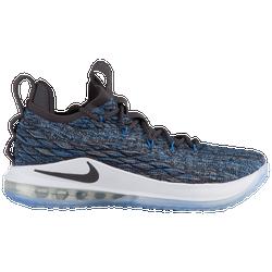 c5956add0a3b7 Lebron James Nike LeBron 15 Low - Mens - Signal Blue Thunder Grey Black