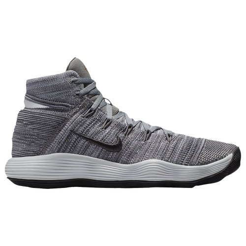 d3df708ab21d Nike React Hyperdunk 2017 Flyknit - Mens - Cool Grey Anthracite Pure  Platinum White - Product    17726007