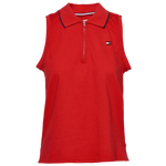 Tommy Hilfiger Sleeveless Zip Up Polo - Women's