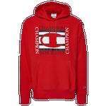 Champion Square Logo Pullover Hoodie - Men's