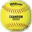 "Wilson Fastpitch 12"" Softball .47/375"