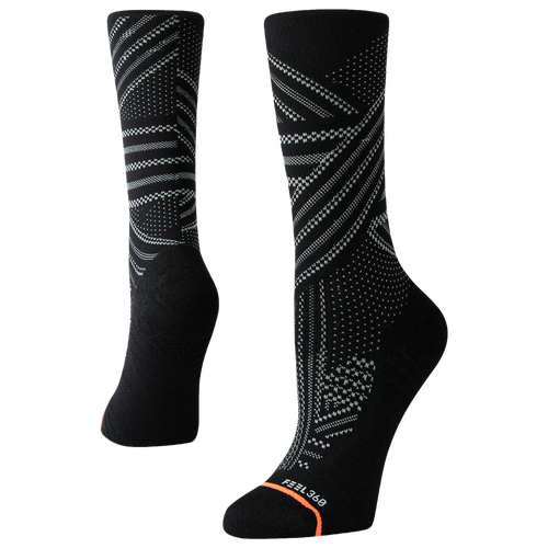 Stay cool and comfortable in the Stance Training Crew Socks. These socks are flexible, breathable, and provide support exactly where you need it. 78% polyester/15% nylon/4% elastane/3% combed cotton. Imported.