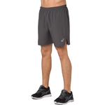 "ASICS® 7"" Silver Shorts - Men's"