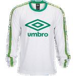 Umbro Logo Crew Neck Long Sleeve T-Shirt - Men's